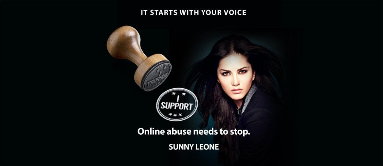 Sunny Leone Supports Akancha Against Harassment