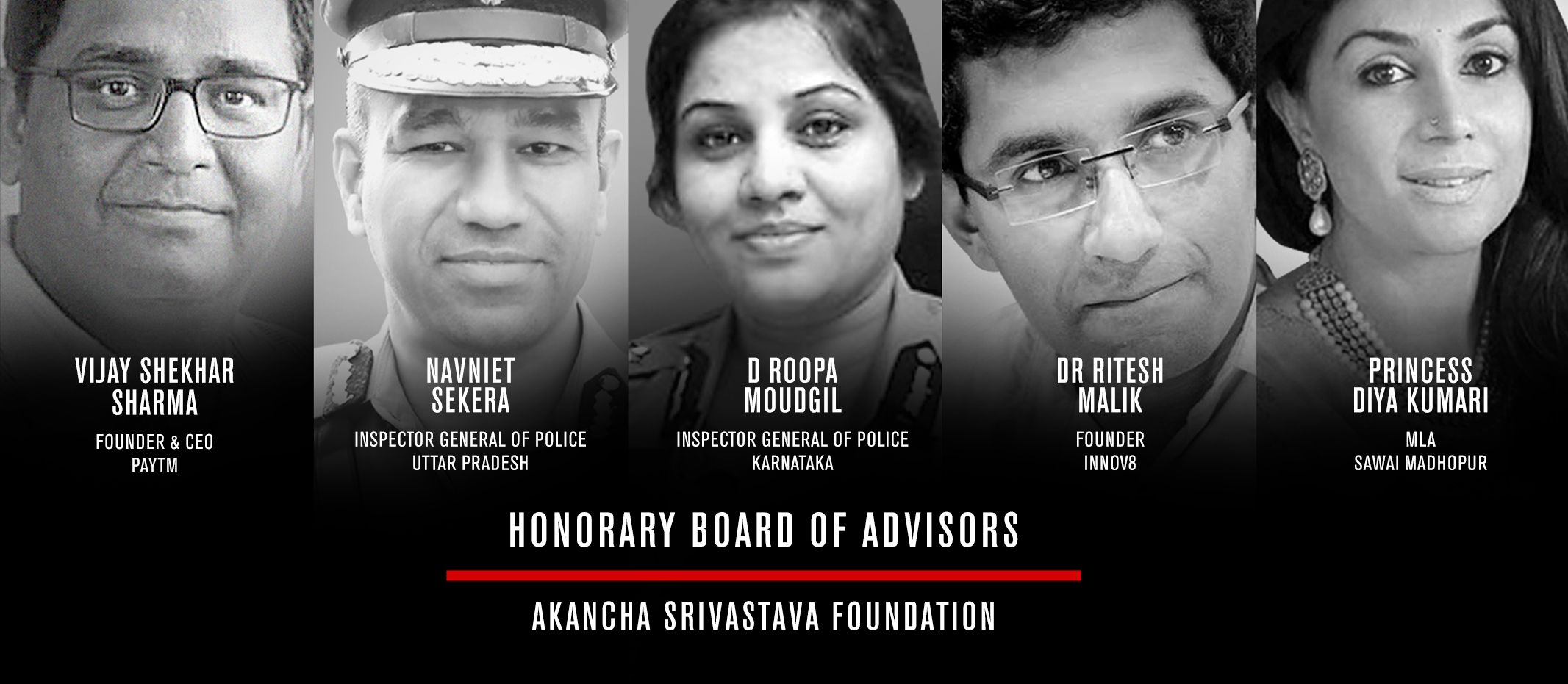 HONORARY BOARD OF ADVISORS #AAH
